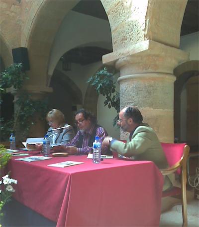 Acto de presentación de la revista Quevedalia
