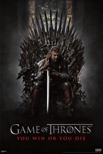 Cartel de la serie Juego de Tronos