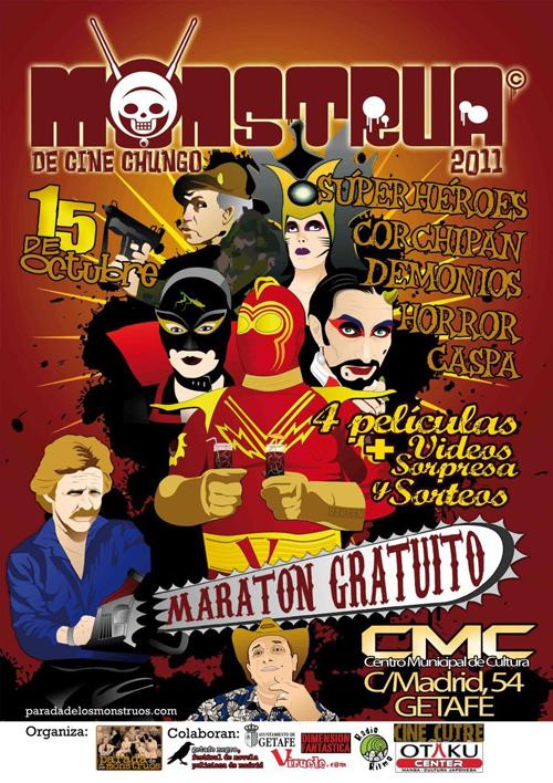 Poster de La Monstrua