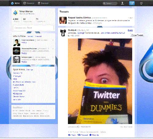 Tweet con contenido multimedia
