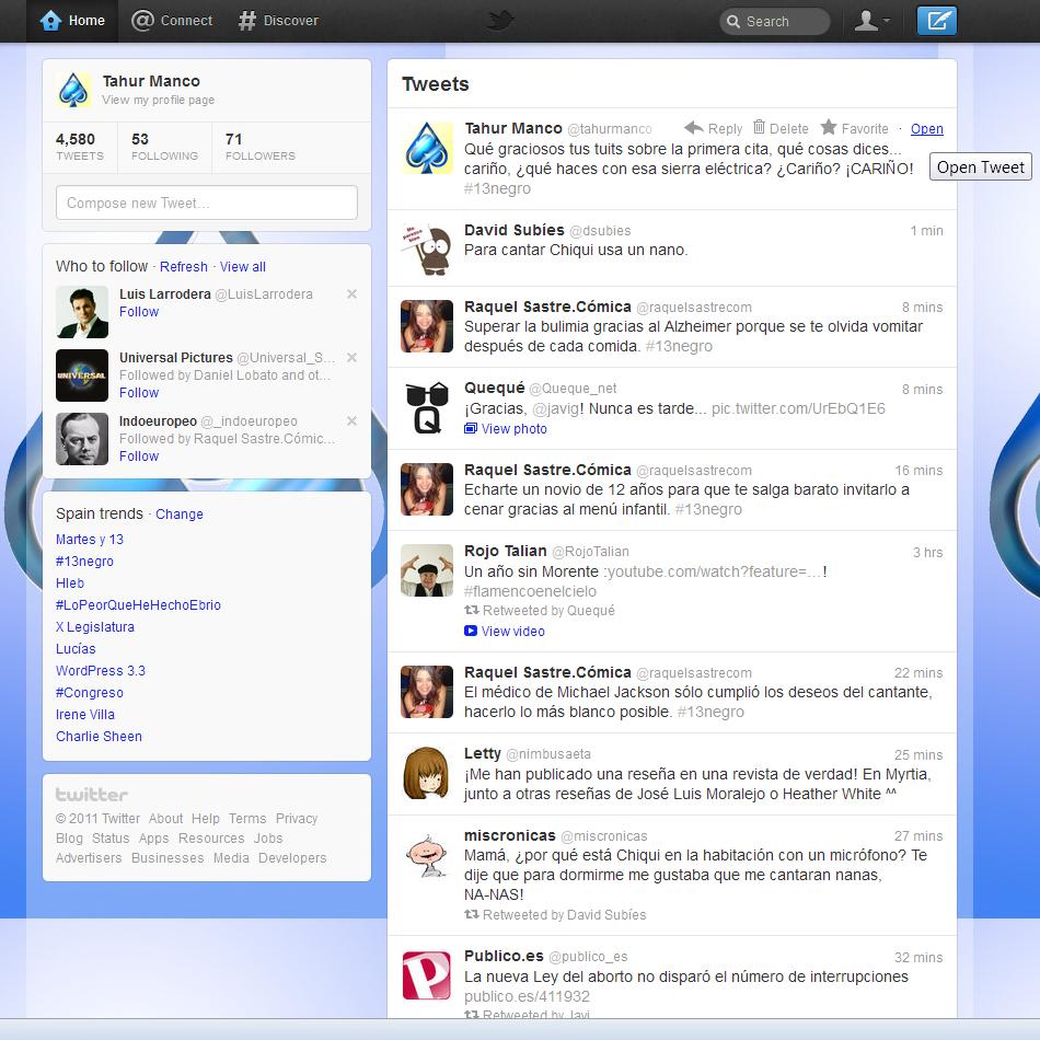 Gu 237 A R 225 Pida Sobre La Nueva Interfaz De Twitter El Tah 250 R
