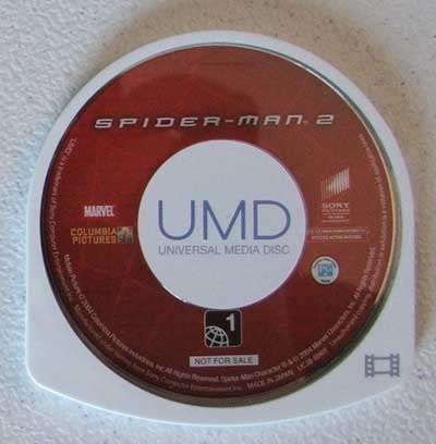 UMD vídeo de Spiderman 2